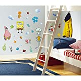 Best RoomMates Friends Toys - RoomMates Repositionable Childrens Wall Stickers - Spongebob Squarepants Review