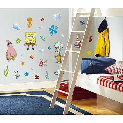 roommates-rmk1380scs-spongebob-squarepants-peel-stick-wall-decals