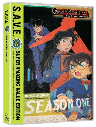 Case Closed: Season One - S.A.V.E. (4pc) [DVD] [Region 1] [NTSC] [US Import] (7779 Serie)