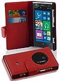 Cadorabo - Funda Nokia Lumia 1020 Book Style de Cuero Sintético en Diseño Libro - Etui Case Cover...