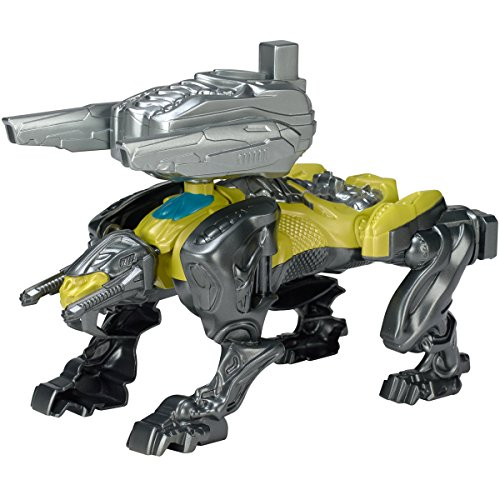 Image of Power Rangers 42563 Movie Sabretooth Battle Zord with Yellow Ranger