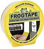 Frogtape 123201 Cinta de carrocero, 0 W, 0 V, Amarillo, 36 mm x 41,1 m
