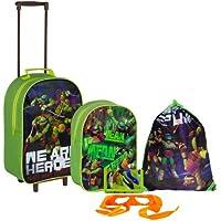 Sambro - Set di bagagli da bambini, 5 pz, motivo: