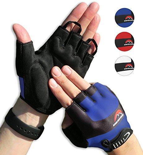 Radsport Handschuhe Herren und Damen, Fahrradhandschuhe für Rennrad, Mountainbike, Krafttraining, Fitness, Reiten, Crossfit, Bergsteigen, Sport
