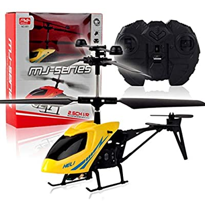 Vivianu 2CH Mini Micro RC Remote Control Helicopter,Aircplane Radio 2 Channel RC Drone Toy for Kids