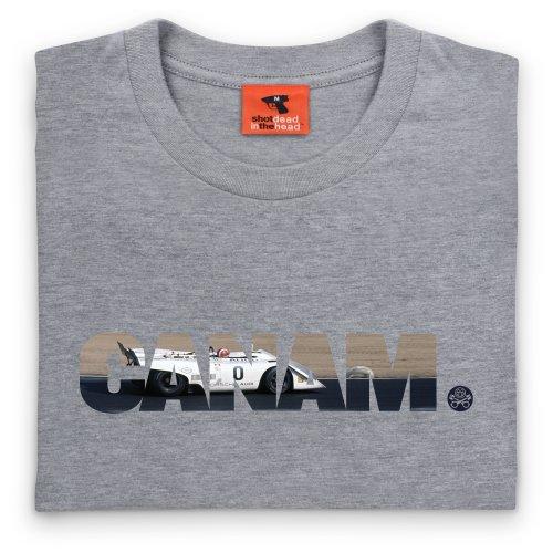 PistonHeads Can-Am T-Shirt, Herren Grau Meliert