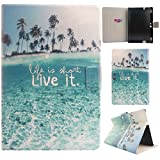 "Kindle Fire HDX 8.9 Folio Case, Gift_Source Brand [Life in the it live it] Slim Fit Premium PU Leather Protective Skin case Folio with Card Slots Case cover For Amazon Kindle Fire HDX 8.9"" Tablet"