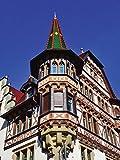 Artland Qualitätsbilder I Wandtattoo Wandsticker Wandaufkleber 60 x 80 cm Architektur Gebäude Sehenswürdigkeiten Foto Natur C7JJ Antikes Fachwerkhaus in Konstanz