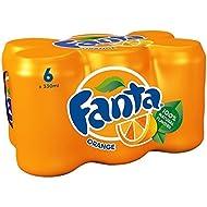 Fanta Orange, 6 x 330 ml