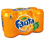 Fanta Orange, 6 x 330 ml