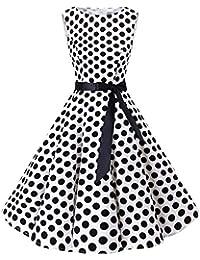 best cheap 57011 41b15 Amazon.it: abito pois - XL / Vestiti / Donna: Abbigliamento