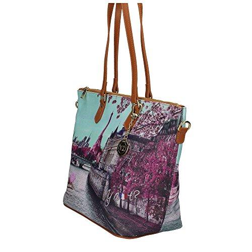 YNOT? H-397 Shopper Tasche Damen Multicolor