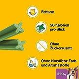 Pedigree DentaStix Fresh Hundesnack für kleine Hunde (5-10kg), Zahnpflege-Snack mit Eukalyptusöl und Grüner Tee-Extrakt, 4 Packungen je 28 Stück (4 x 440 g) - 5