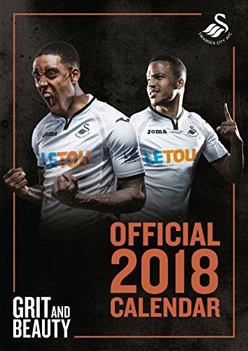 Swansea City A.F.C Official 2018 Calendar - A3 Poster Format