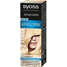 Haarfarbe spray blond
