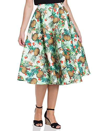 mmy Tropical Skirt 3350 Grün XXL (Voodoo Vixen Kostüme)