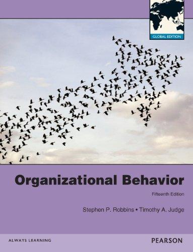 Organizational Behavior Global Edition