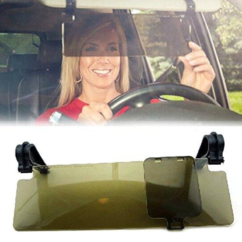 Foxnovo Durable Anti-Glare Blendschutzring Clip-on Auto Auto Sonnenblende Spiegel Sonnenblende