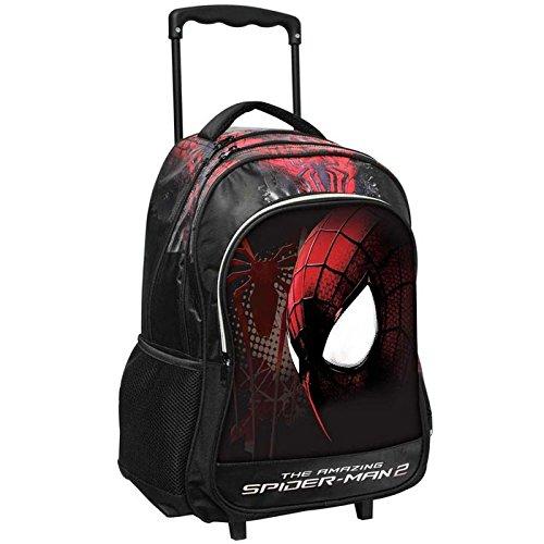 trolley-zaino-grande-the-amazing-spiderman-2-colore-nero