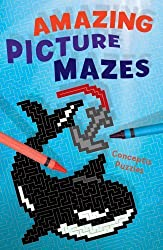 Amazing Picture Mazes by Conceptis Puzzles (2008-05-06)