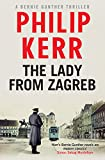 Front cover for the book The Lady from Zagreb by Philip Kerr