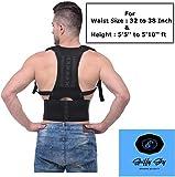 Spiffy Sky TM Posture Corrector Shoulder Back Support Belt for Men and Women