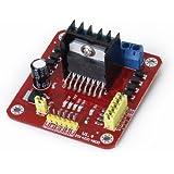 SODIAL(R) Conductor l298n dual h bridge motor junta modulo controlador