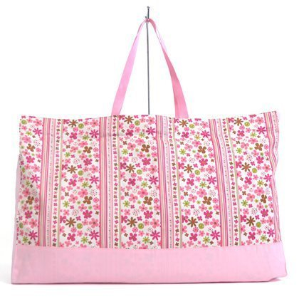 Peacefully Flower Park Happy nap futon bag Scandinavia (pink) made in Japan N1000700 (japan import)