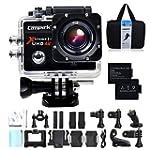 foto Campark® 4K Wi-Fi Ultra HD videocamer...