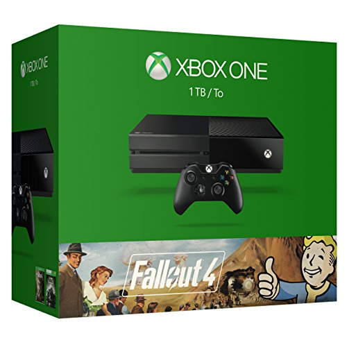 Microsoft Xbox One 1 TB-Konsole - Fallout 4 Bundle - Für Netzkabel One Die Xbox