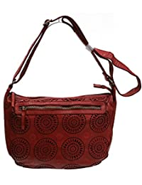 Sac besace GIANNI CONTI rouge