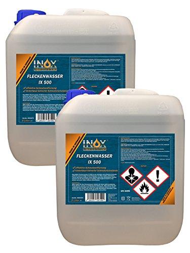 INOX Fleckenwasser IX 500 2 x 5 Liter - Kfz-Textilreiniger