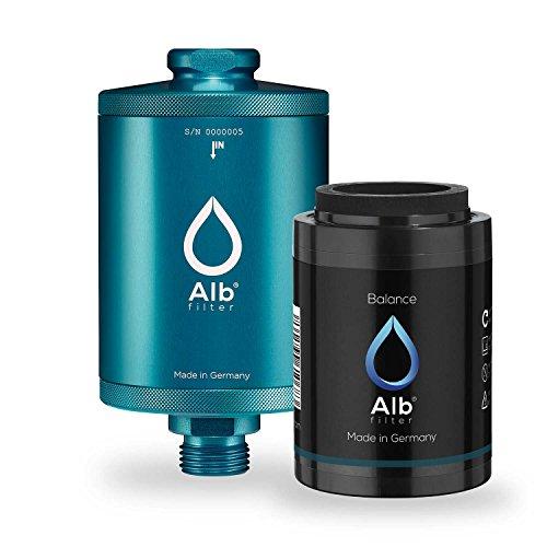 Kopfhaut Sahne (Alb Filter® Balance Duschfilter für gesunde Haut und Haare anstatt Hautirritationen und Juckreiz. Made in Germany. Cyan)