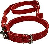 Sollar's Neck Collar Belts and Leash Set for Dog (Medium)