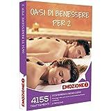Emozione3 - Cofanetto Regalo - OASI DI BENESSERE PER 2-4155 esperienze di benessere con massaggi, percorsi e trattamenti benessere e beauty