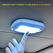 Carrfan Universal Automobile Car Interior Reading Light Dome USB Charging Roof Ceiling Magnet Lamp Touching Ty
