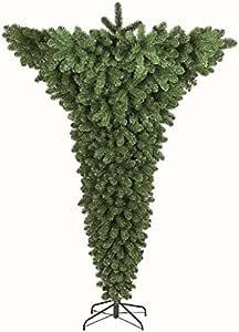 Albero Di Natale Capovolto.Albero Di Natale Modello Capovolto Cm 180 Natalizio Flora S R L Amazon It Casa E Cucina