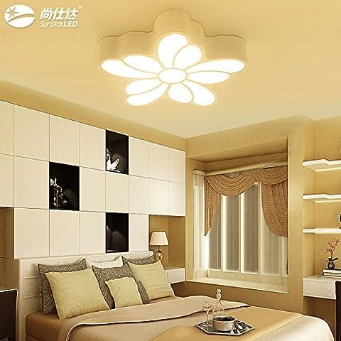 KANG@ Plafonniers Les chambres sont modernes minimaliste et confortable salle de mariage créative romantique trois lampes tendances Ombre