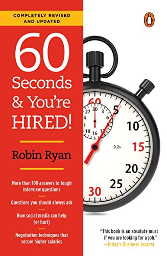 Read PDF 60 Seconds and You re Hired!: Revised Edition PDF Online By ...