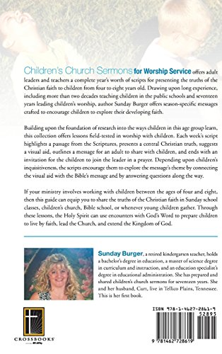 Children's Church Sermons for Worship Service: Preparing the Next Generation