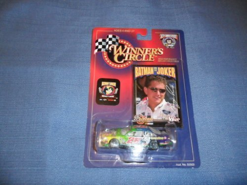 1998-nascar-winners-circle-kenny-irwin-28-the-joker-ford-taurus-1-64-diecast-includes-batman-vs-the-
