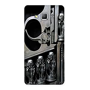 Stylish Sharpshooter Three Gun Back Case Cover for Galaxy A7