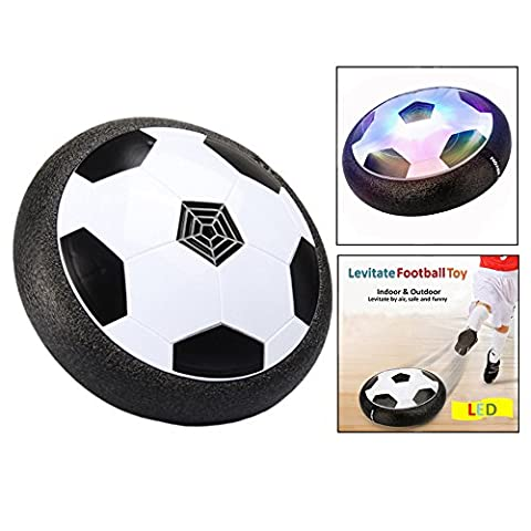 Itian DIY Flashing Air Soccer, Toys Floating Soccer, Disk Hover Ball, Ball Floating And LED Lights Playing Home Football Without Risk