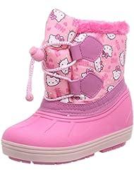 Hello Kitty Girls Kids Snowboot Booties, Bottes de neige de hauteur moyenne, doublure chaude fille