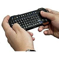 Nvidia / EVGA Tegra Note 7, Shield Tablet / LTE Mini Controller con Bluetooth, COOPER MAGIC WAND Tastiera Controller Remota con Retroilluminazione Portatile Universale con Touchpad (Nero)