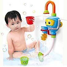 Yeesn Baby Bath Shower Toys, Diver Spray Toys Spray Station Bathtub Toy - NO Batteries No Power Need