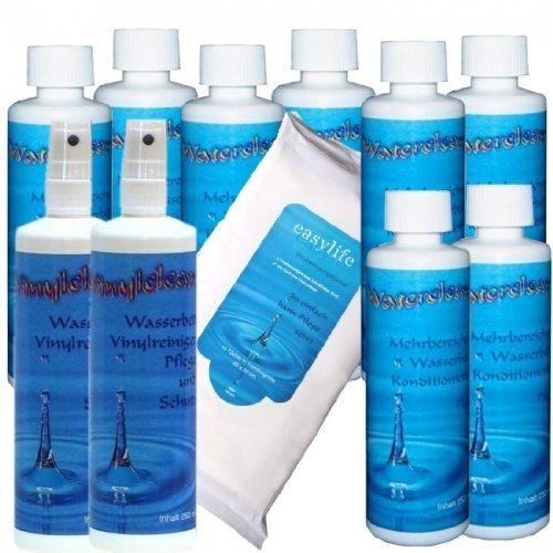 sabuy-kit-dentretien-complet-pour-matelas-a-eau-8-flacons-de-conditionneur-waterclean-250-ml-nettoya