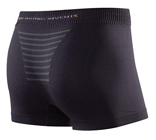 X-Bionic Erwachsene Funktionsbekleidung Man Invent Light UW Boxer, Black/Anthracite, M, I020295 - 2