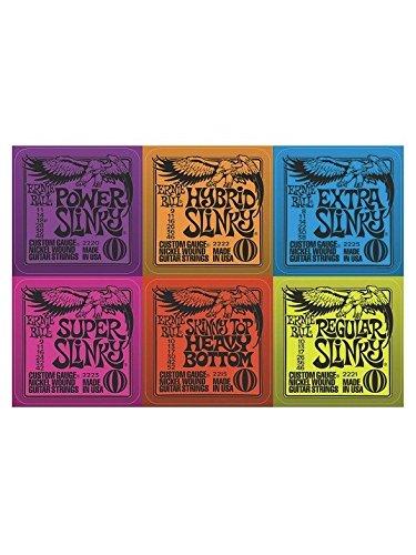 Ernie Ball: Slinky Coasters - Pack Of Six