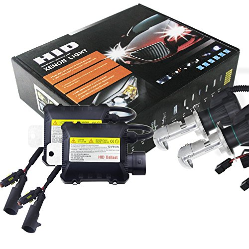 Romsion 2 55 W H4 HID bi-Xenon Hi/Low Lampen Scheinwerfer Conversion Kit 3000-12000 K